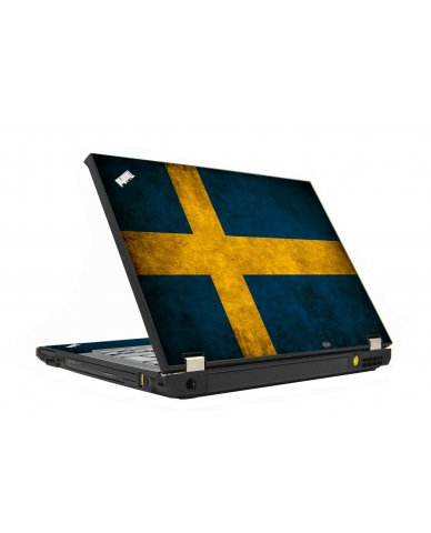 Swedish Flag IBM T410 Laptop Skin
