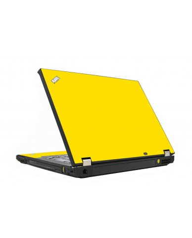 Yellow IBM T410 Laptop Skin
