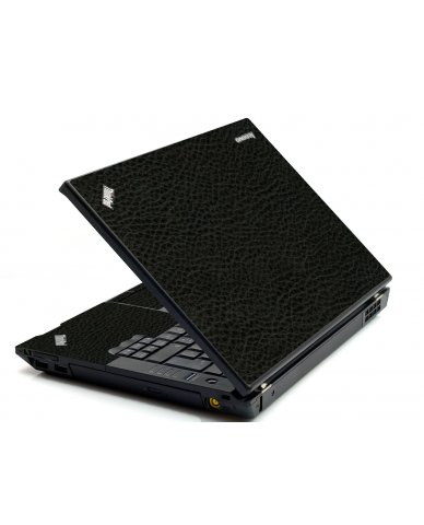 Black Leather IBM T420 Laptop Skin