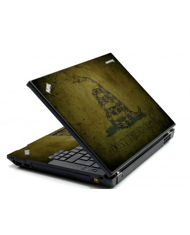 Green Don't Tread Flag IBM T420 Laptop Skin
