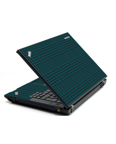 Green Flannel IBM T420 Laptop Skin