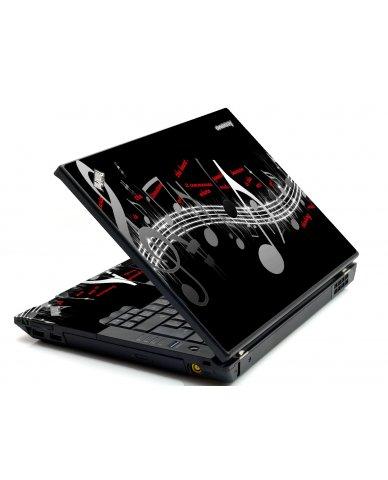 Music Notes IBM T420 Laptop Skin