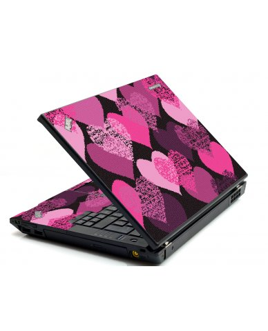 Pink Mosaic Hearts IBM T420 Laptop Skin