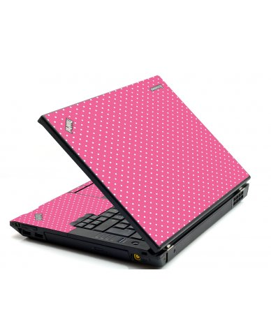 Pink Polka Dot IBM T420 Laptop Skin