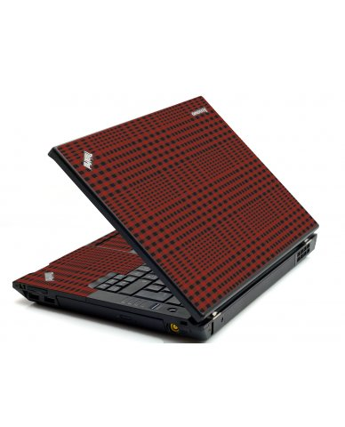 Red Flannerl IBM T420 Laptop Skin