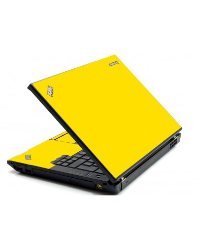 Yellow IBM T420 Laptop Skin