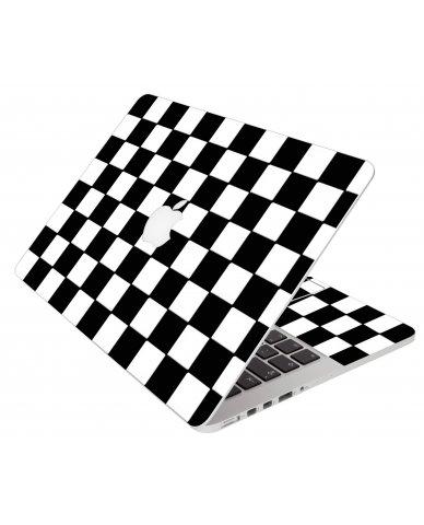 Checkered Apple Macbook Air 11 A1370 Laptop Skin