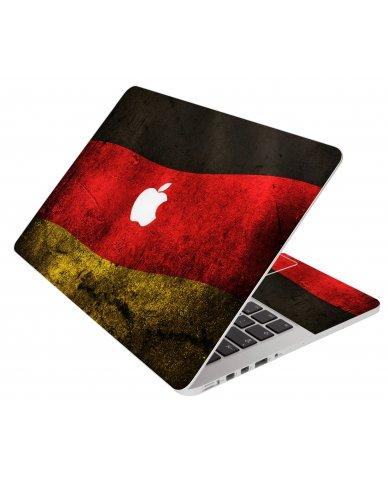 German Flag Apple Macbook Air 11 A1370 Laptop Skin