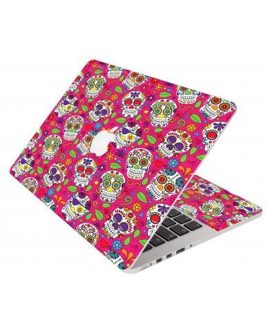 Pink Sugar Skulls Apple Macbook Air 11 A1370 Laptop Skin
