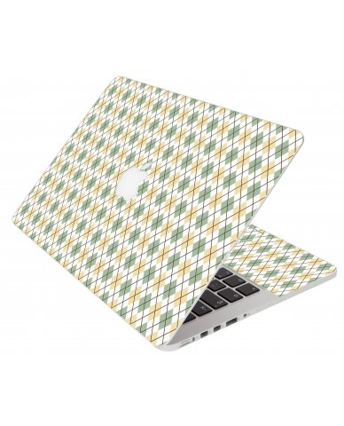 Argyle Apple Macbook Air 13 A1466 Laptop Skin