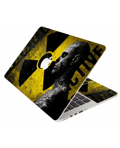 Biohazard Zombie Apple Macbook Air 13 A1466 Laptop Skin