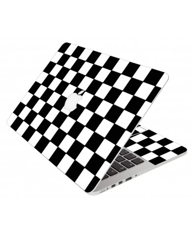 Checkered Apple Macbook Original 13 A1181 Laptop Skin