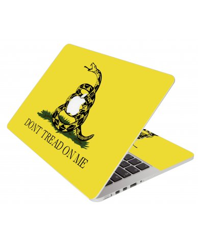 Dont Tread On Me Apple Macbook Original 13 A1181 Laptop Skin
