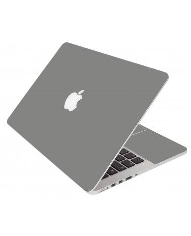 Grey Silver Apple Macbook Original 13 A1181 Laptop Skin