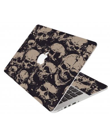 Grunge Skulls Apple Macbook Original 13 A1181 Laptop Skin