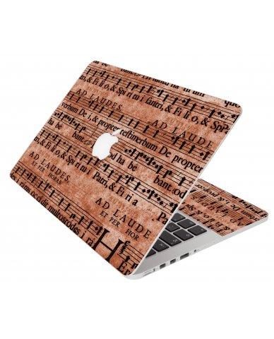 Latin Sheet Music Apple Macbook Original 13 A1181 Laptop  Skin