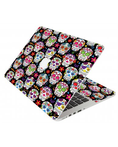 Sugar Skulls Seven Apple Macbook Original 13 A1181 Laptop Skin