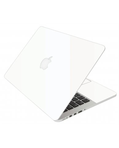 White Apple Macbook Original 13 A1181 Laptop Skin