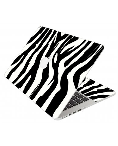 Zebra Apple Macbook Original 13 A1181 Laptop Skin
