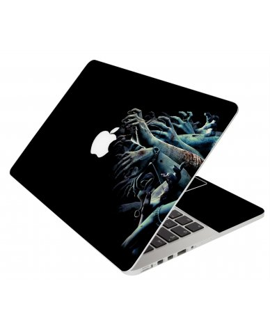 Zombie Hands Apple Macbook Original 13 A1181 Laptop Skin