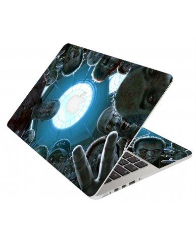Zombie Horde Apple Macbook Original 13 A1181 Laptop Skin
