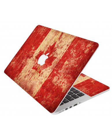 Canada Flag Apple Macbook Pro 13 A1278 Laptop Skin