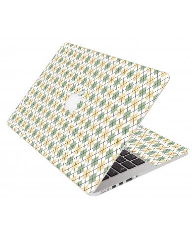 Argyle Apple Macbook Pro 13 Retina A1502 Laptop Skin