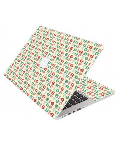 Bigtop Apple Macbook Pro 13 Retina A1502 Laptop Skin