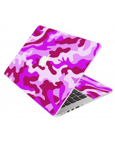 Pink Camo Apple Macbook Pro 13 Retina A1502 Laptop  Skin