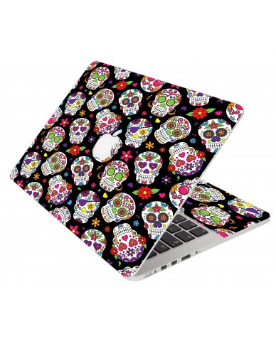 Sugar Skulls Apple Macbook Pro 13 Retina A1502 Laptop Skin