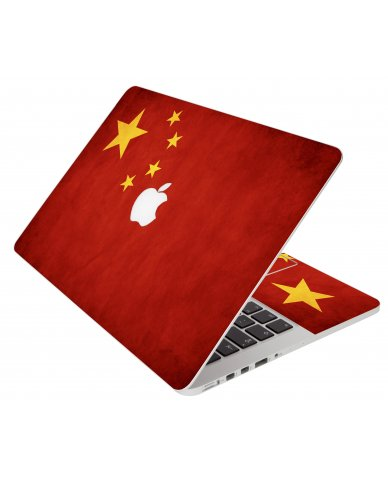 Flag Of China Apple Macbook Pro 15 A1286 Laptop Skin