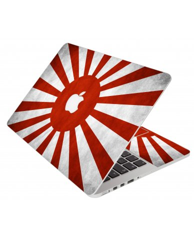 Japanese Flag Apple Macbook Pro 15 Retina A1398 Laptop Skin