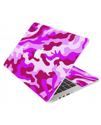 Pink Camo Apple Macbook Pro 15 Retina A1398 Laptop  Skin