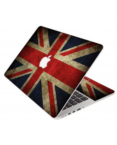 British Flag Apple Macbook Pro 17 A1151 Laptop Skin