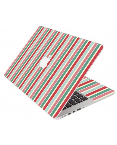 Gum Stripes Apple Macbook Pro 17 A1151 Laptop Skin