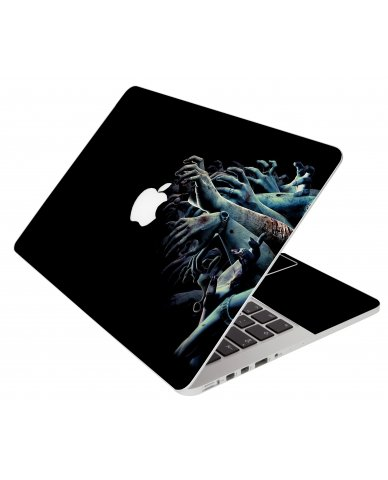 Zombie Hands Apple Macbook Pro 17 A1151 Laptop Skin