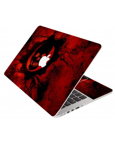 Dark Skull Apple Macbook Pro 17 A1297 Laptop Skin