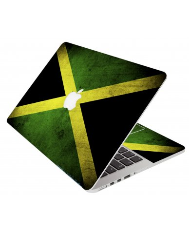 Jamaican Flag Apple Macbook Pro 17 A1297 Laptop Skin