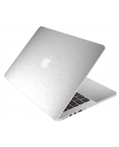 Mts#1 Textured Aluminum Apple Macbook Pro 17 A1297  Laptop Skin