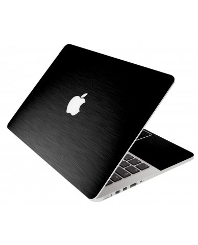 Mts Black Apple Macbook Pro 17 A1297 Laptop Skin