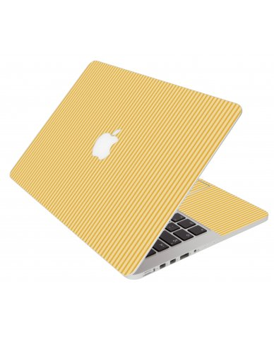 Warm Stripes Apple Macbook Pro 17 A1297 Laptop Skin