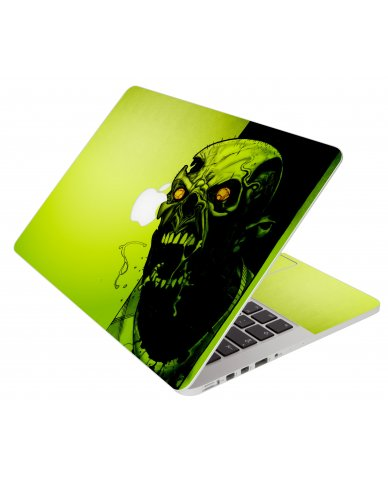 Zombie Face Apple Macbook Pro 17 A1297 Laptop Skin