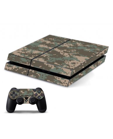 CAMO PIXELS PLAYSTATION 4 GAME CONSOLE SKIN