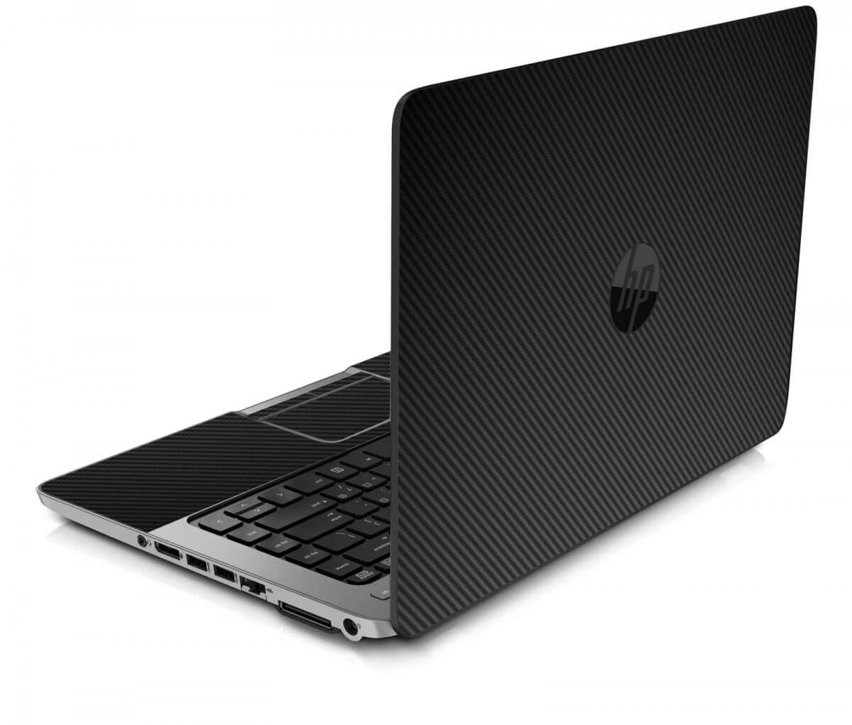 BLACK TEXTURED CARBON FIBER HP ProBook 850 G1 Skin