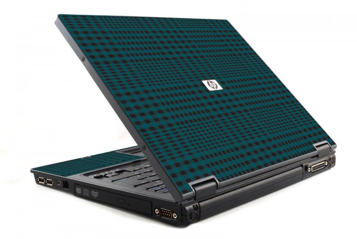 Green Flannel 6510B Laptop Skin