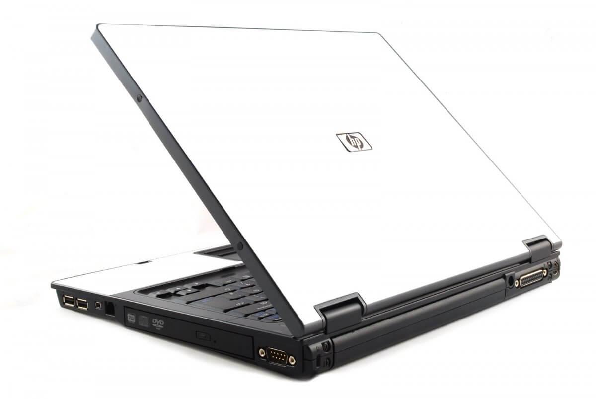 White HP NC6120 Laptop Skin