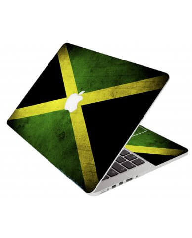 Jamaican Flag Apple Macbook Pro 13 Retina A1502 Laptop Skin