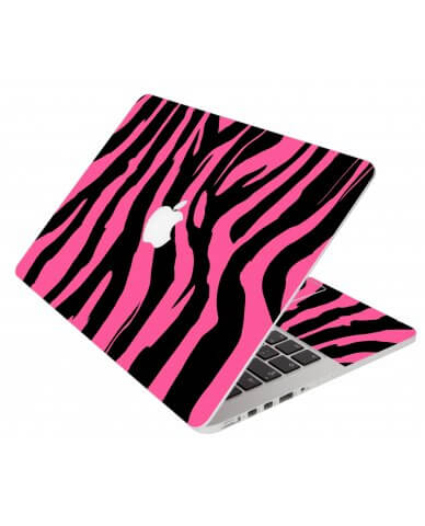 Pink Zebra Apple Macbook Pro 17 A1297 Laptop Skin