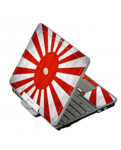 Japanese Flag HP EliteBook 2730P Laptop Skin