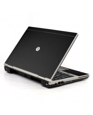 Black Carbon Fiber 2570P Laptop Skin